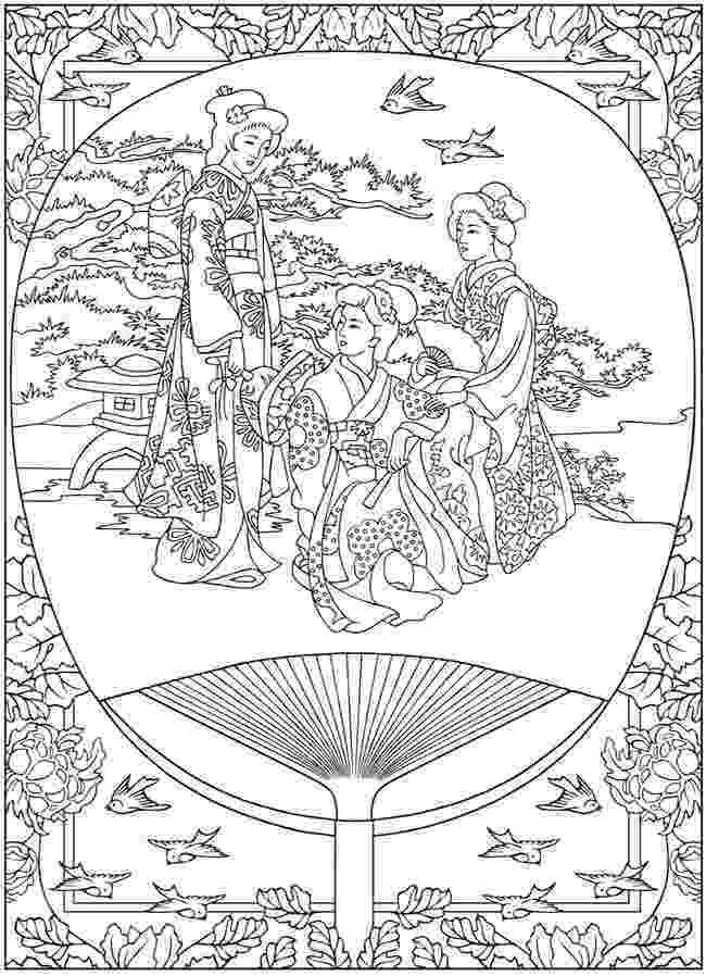 japanese coloring pages life in japan tradition japan adult coloring pages coloring japanese pages