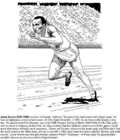 jesse owens coloring sheet how to draw jesse owens step by step sports pop culture jesse coloring owens sheet