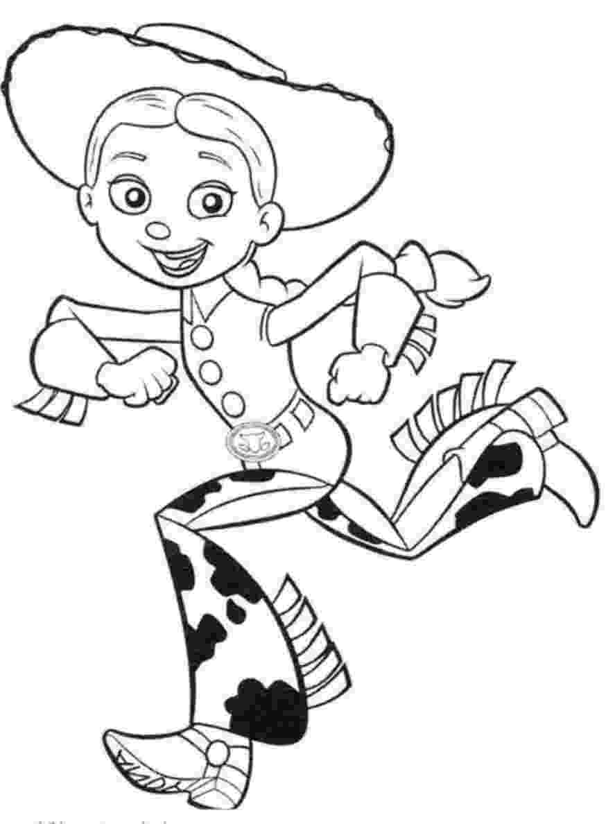 jessie toy story coloring pages toy story coloring pages 360coloringpages jessie toy pages story coloring