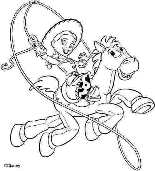 jessie toy story coloring pages toy story coloring pages toy story of terror pages coloring jessie toy story