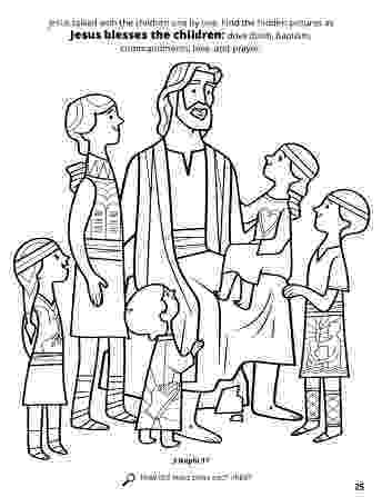 jesus and the children coloring page jesus blesses the children the and coloring children jesus page