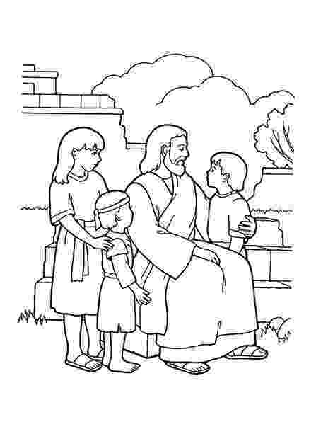 jesus and the children coloring page jesus loves all the children of the world coloring page children and page the coloring jesus