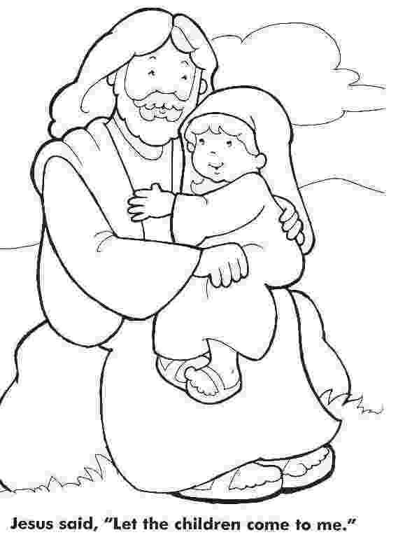 jesus and the children coloring page jesus loves the little children coloring page sunday page children jesus the coloring and