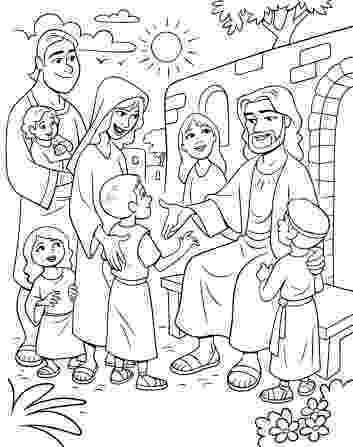 jesus and the children coloring page let children come to me coloring google search gospel children coloring the page jesus and