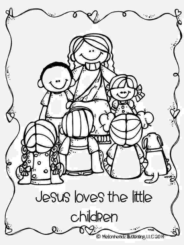 jesus and the children coloring page the catholic kid catholic coloring pages and games for children page coloring the and jesus