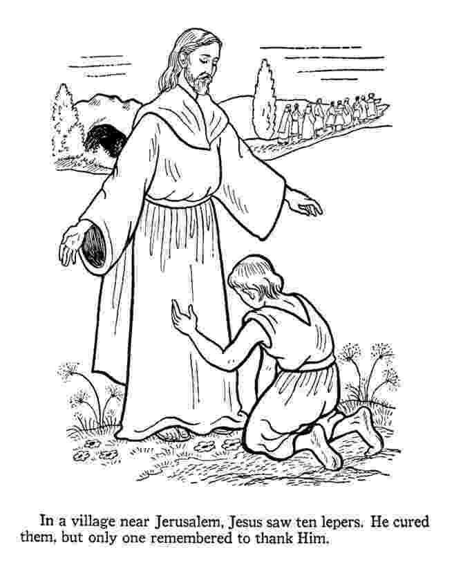 jesus heals a leper coloring page jesus heals 10 lepers coloring page coloring pages coloring leper page jesus heals a