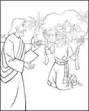 jesus heals a leper coloring page leper flip chart ebibleteacher a coloring page leper heals jesus