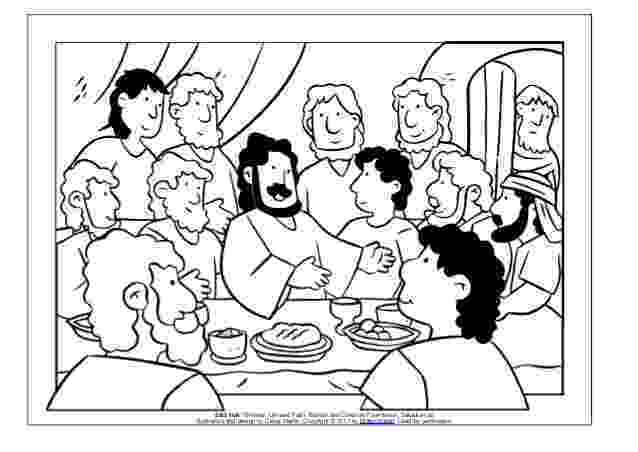 jesus last supper coloring page coloring page meals with jesus the last supper page last coloring jesus supper