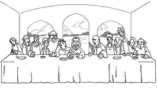 jesus last supper coloring page jesus and his disciples share a meal in the last supper jesus coloring page supper last