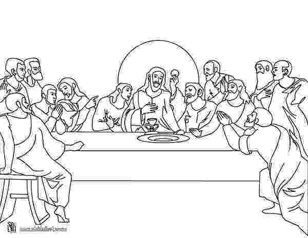 jesus last supper coloring page jesus and his twelve disciples in last supper coloring jesus page last coloring supper