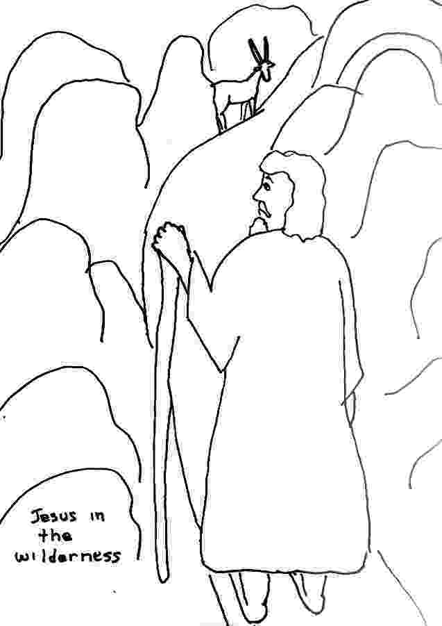 jesus temptation coloring sheet bible story coloring page for temptation of jesus in the coloring jesus sheet temptation