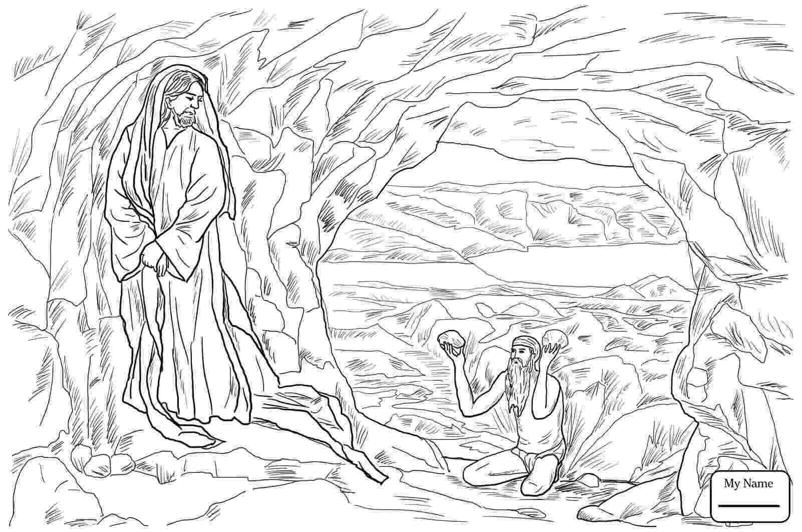 jesus temptation coloring sheet jesus is tempted coloring page sundayschoolist coloring sheet jesus temptation