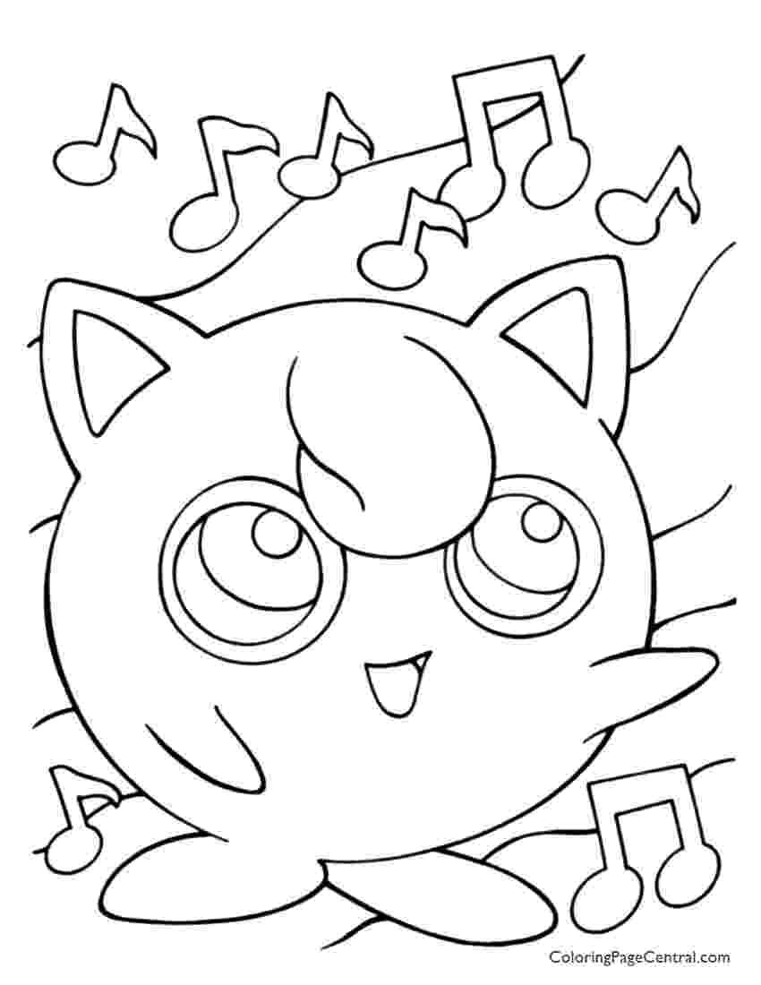 jigglypuff coloring pages jigglypuff coloring pages getcoloringpagescom coloring jigglypuff pages