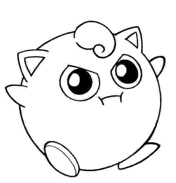 jigglypuff coloring pages jigglypuff no39 pokemon generation i all pokemon jigglypuff coloring pages
