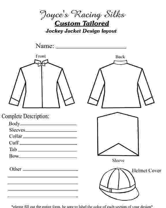 jockey silks coloring pages decorate your own jockey silks ichild jockey pages coloring silks