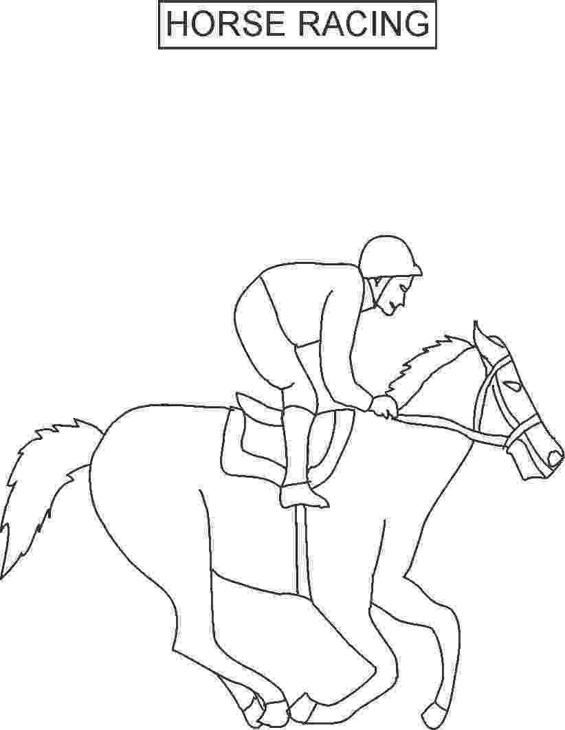 jockey silks coloring pages horse racing color pages horse racing coloring derby jockey coloring pages silks