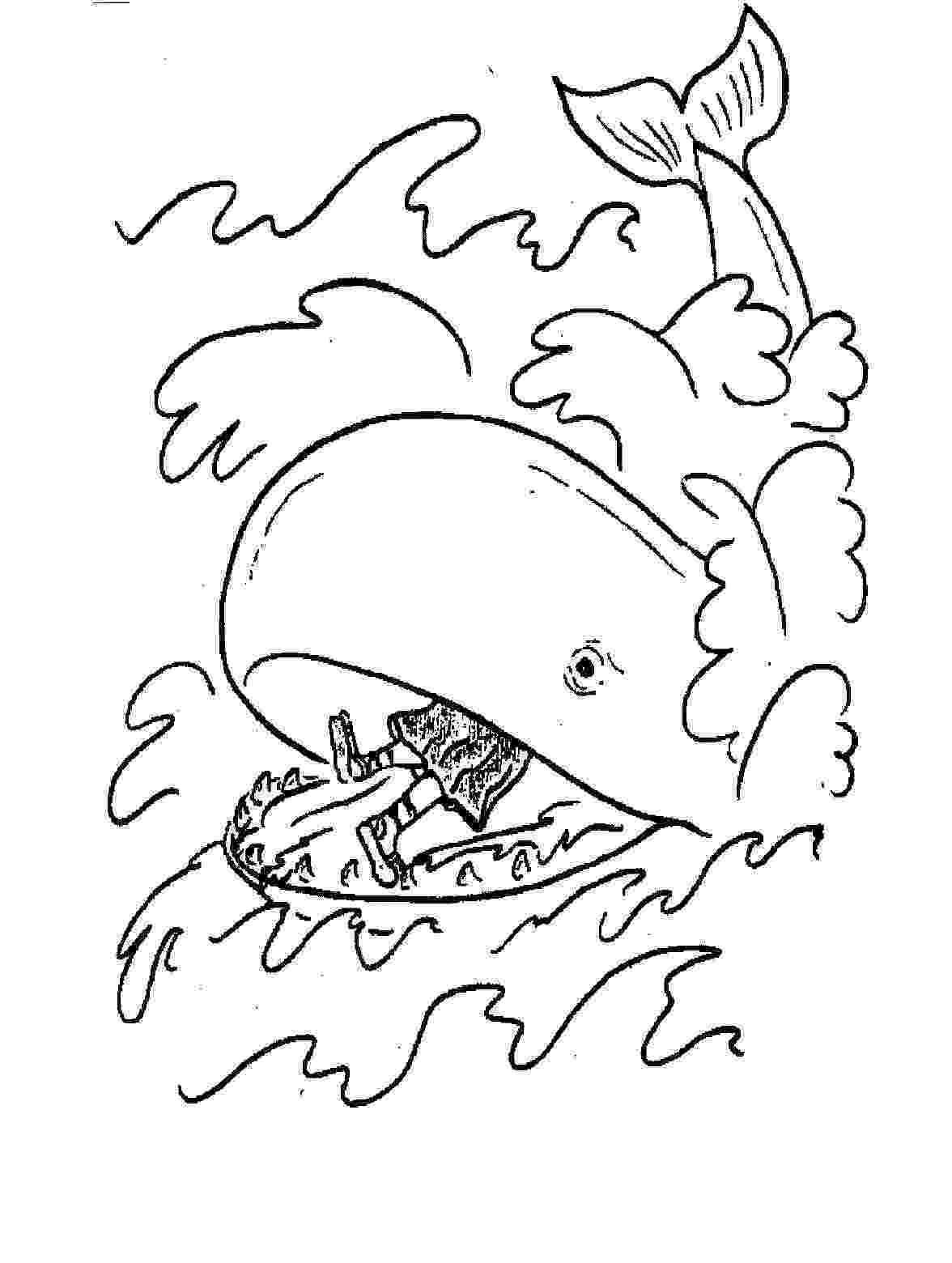 jonah and the whale coloring page free printable jonah and the whale coloring pages for kids and page coloring whale jonah the