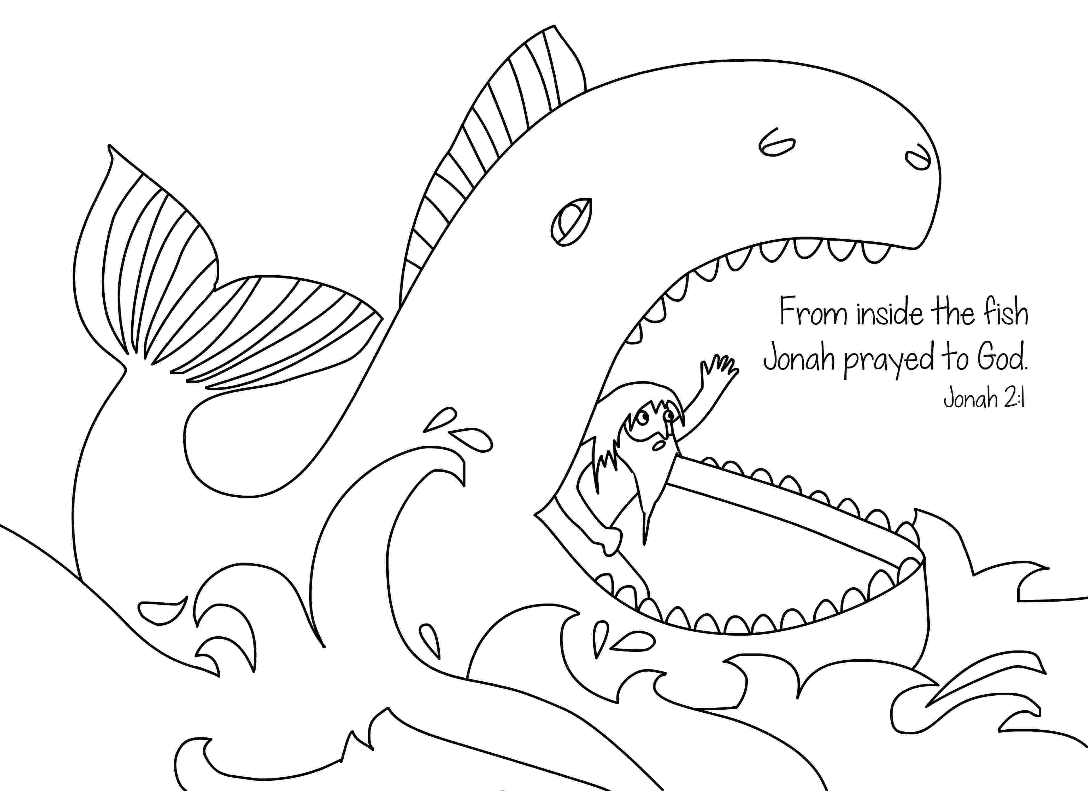 jonah and the whale coloring page jonah and the whale by cori ann coloring page jonah the whale and