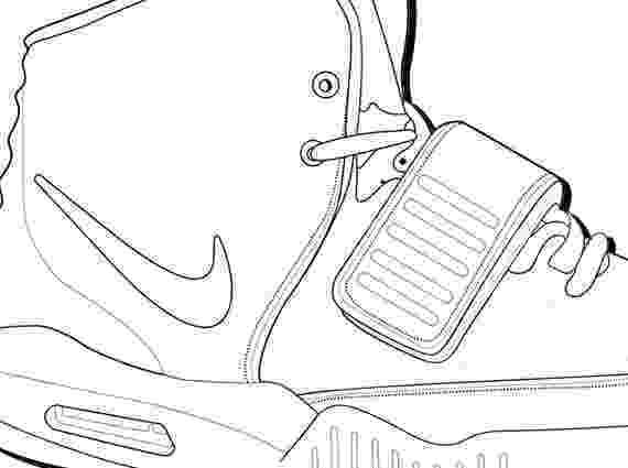 jordan 2 coloring page 42 best shoe 2 d images on pinterest shoe template shoe jordan coloring 2 page