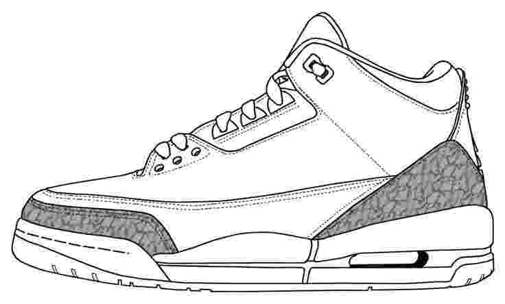 jordan 2 coloring page air jordan shoes coloring pages to learn drawing outlines page jordan coloring 2