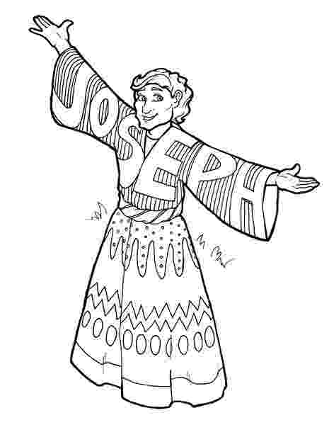 joseph and the coat of many colors coloring page episcopal kids joseph39s coat preschool craft of coloring coat joseph page colors the many and