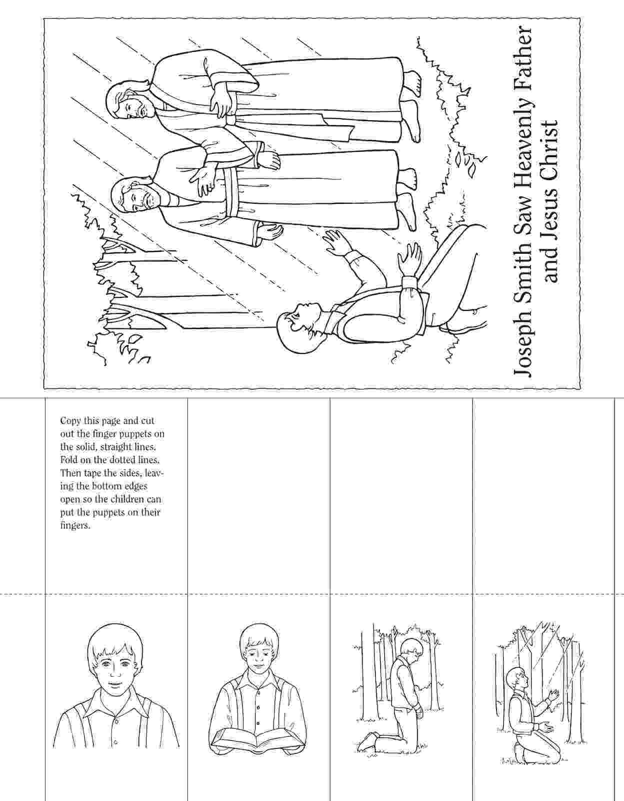 joseph smith coloring pages joseph smith reading scriptures joseph pages smith coloring