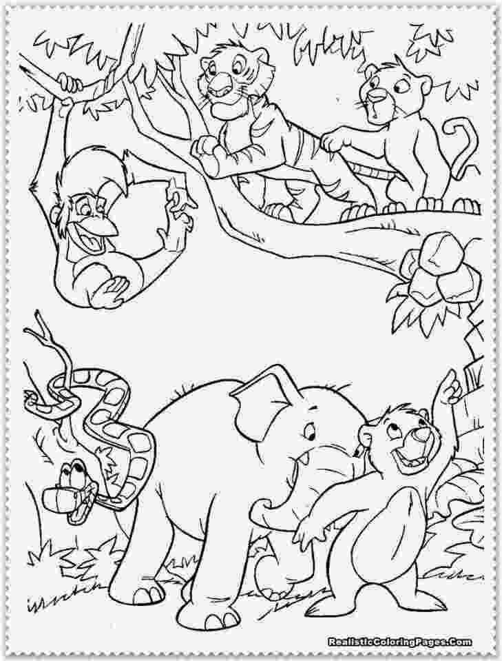jungle animal coloring book pages jungle animal coloring pages jungle coloring pages book coloring animal jungle pages