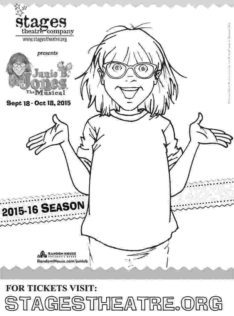 junie b jones coloring junie b jones is a graduation girl coloring page free junie b jones coloring