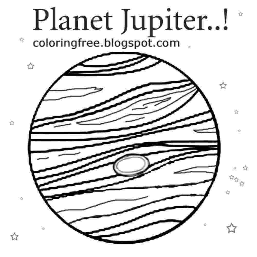 jupiter coloring page free printable solar system coloring pages for kids page coloring jupiter