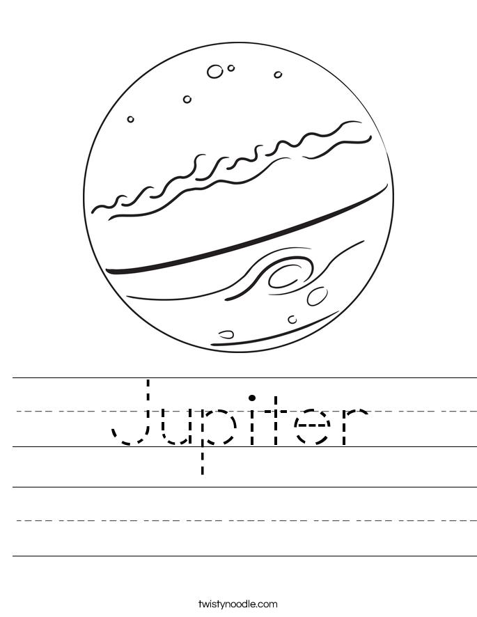 jupiter coloring page jupiter printoutcoloring page simple version jupiter page coloring