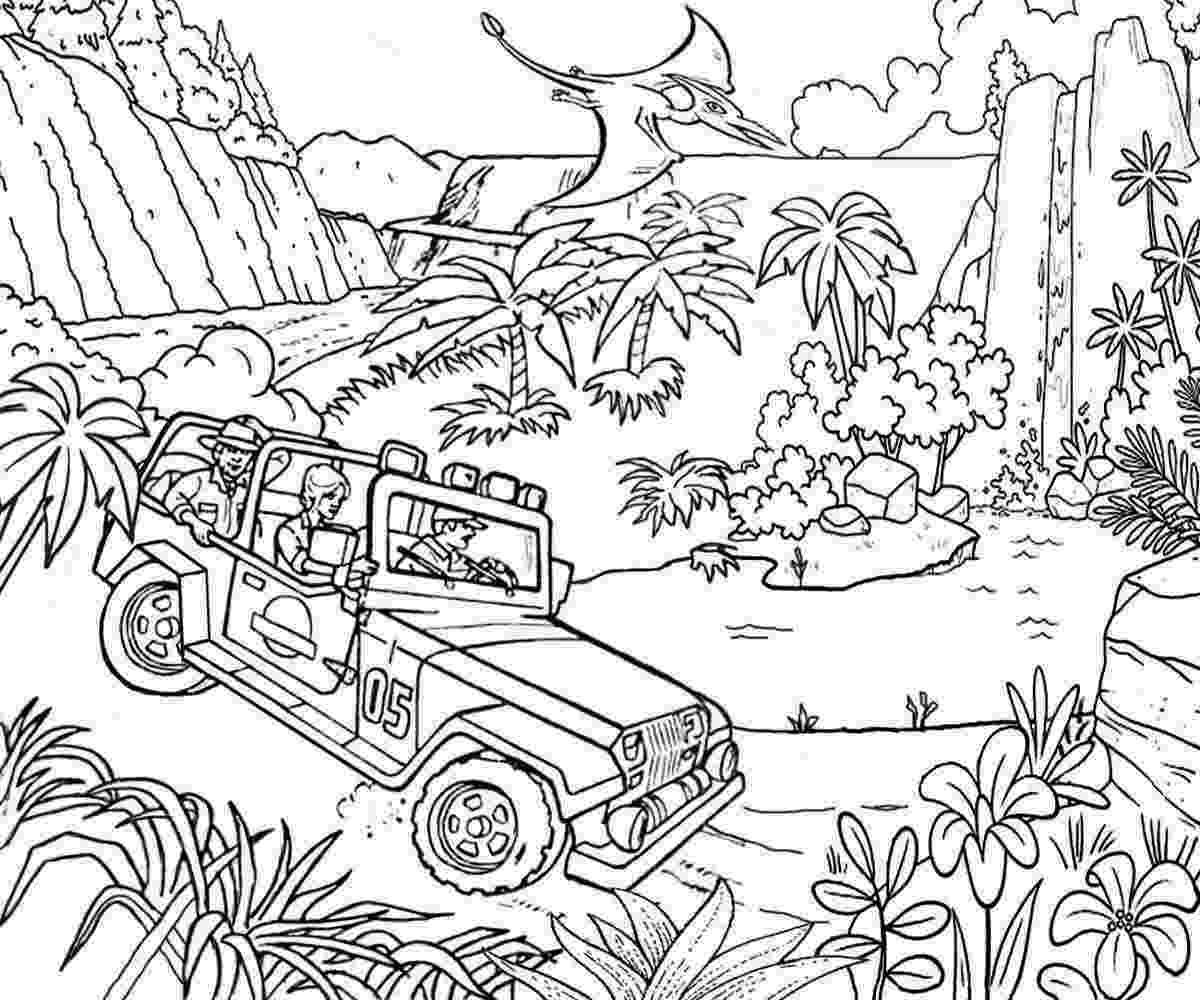 jurassic park coloring 7 jurassic park coloring pages printable for kids coloring jurassic park