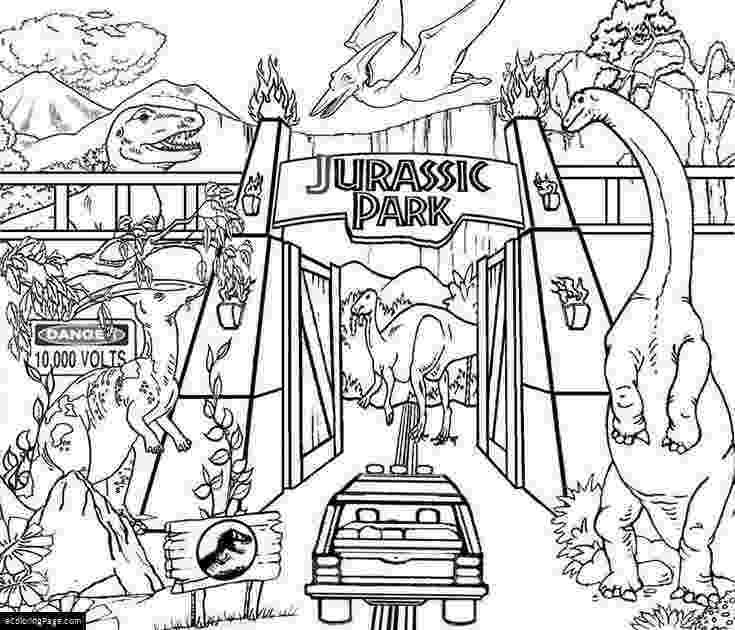 jurassic park coloring jurassic park coloring pages 7 comgif 700800 pixels park coloring jurassic