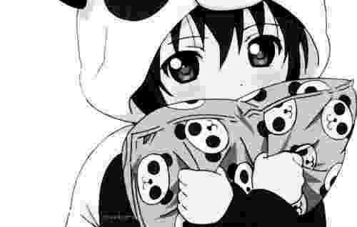 kawaii girl nagareboshi lens manga anime monochrome manga hair kawaii girl