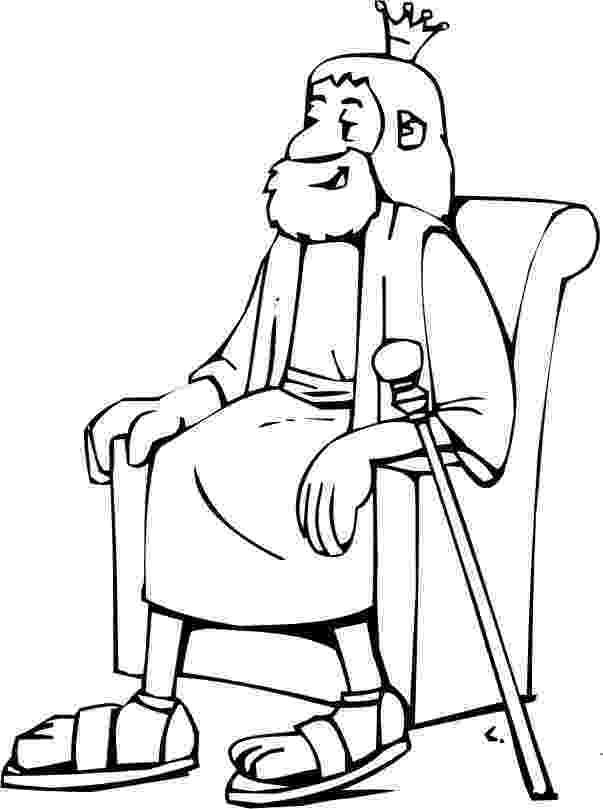 king david coloring sheet god chooses david to be king life hope truth david sheet king coloring