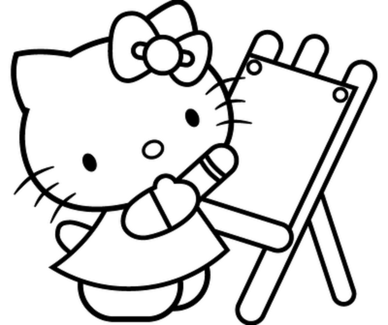 kitty cat coloring pages cute kitten coloring pages getcoloringpagescom coloring kitty pages cat