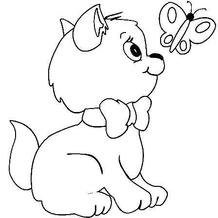 kitty cat coloring pages free printable kitten coloring pages for kids best pages coloring kitty cat