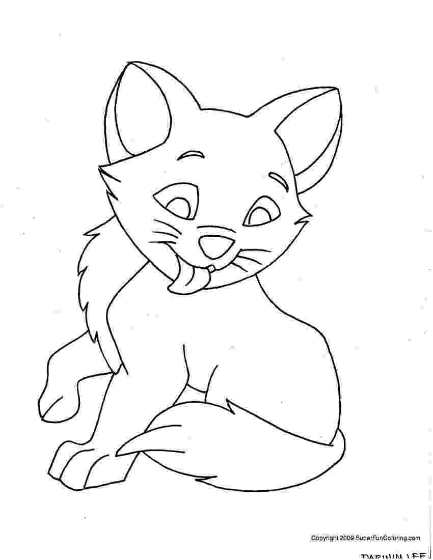 kitty cat coloring pages kitten coloring pages best coloring pages for kids cat pages kitty coloring