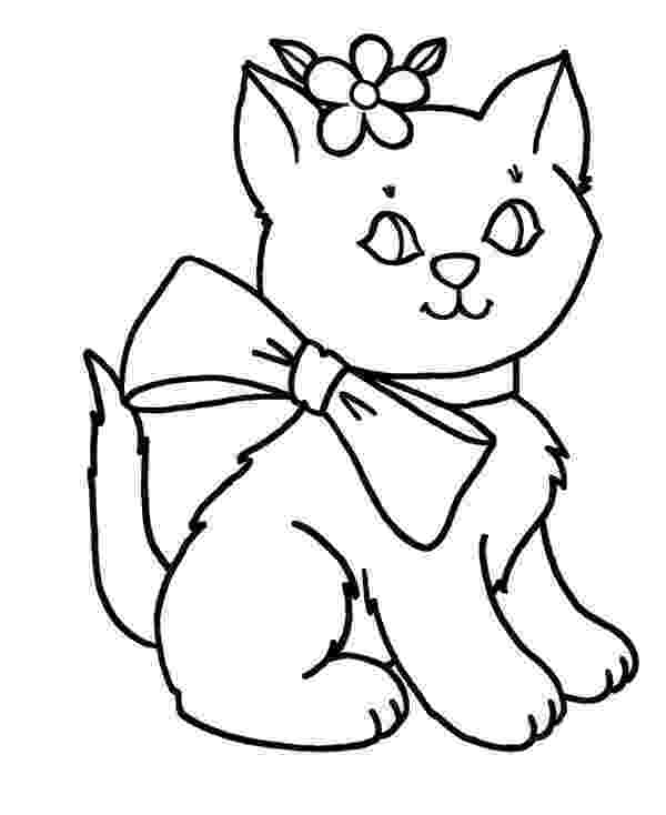 kitty cat pictures to color free printable kitten coloring pages for kids best cat pictures kitty to color