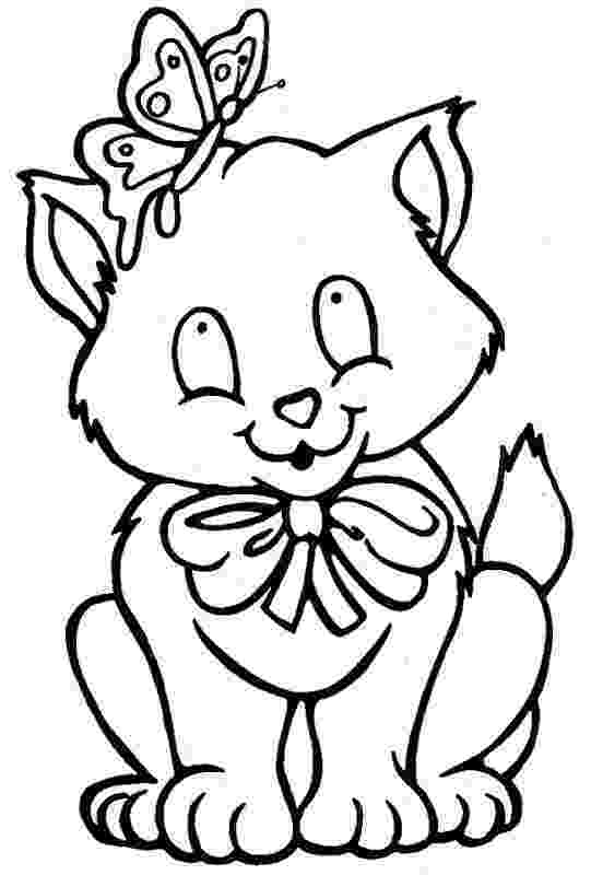 kitty cat pictures to color free printable leprechaun coloring pages coloring pages to pictures color cat kitty