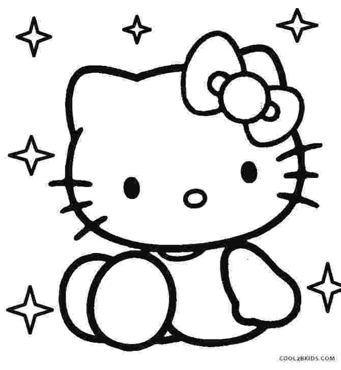 kitty pictures to print free printable hello kitty coloring pages for pages kitty to pictures print