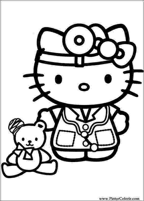 kitty pictures to print hello kitty halloween coloring pages team colors pictures kitty print to