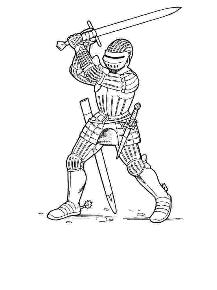 knight coloring pages the other side of knights shoeing in middle ages pages coloring knight