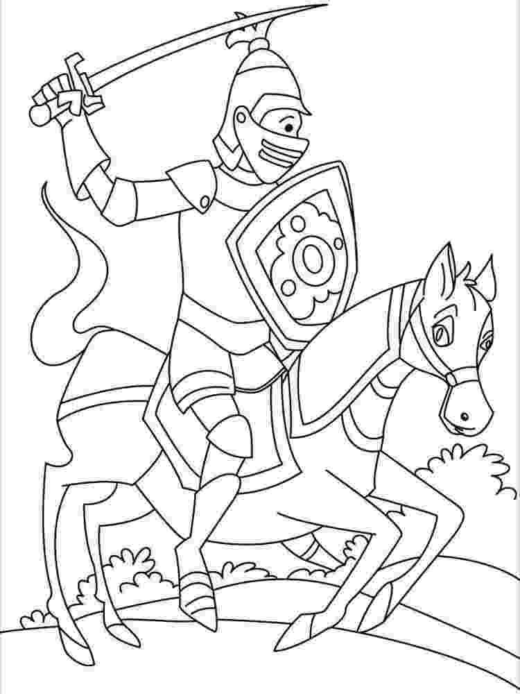 knight colouring pictures ausmalbilder für kinder malvorlagen und malbuch knight colouring pictures knight
