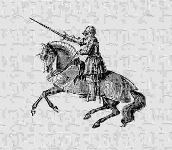knight on horseback knight horse illustration printable graphic by horseback on knight