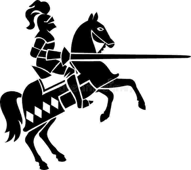 knight on horseback nobel knight on horseback engraving stock illustration knight on horseback