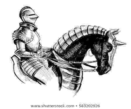 knight on horseback praxinoscope galloping warhorse film storyboards on knight horseback