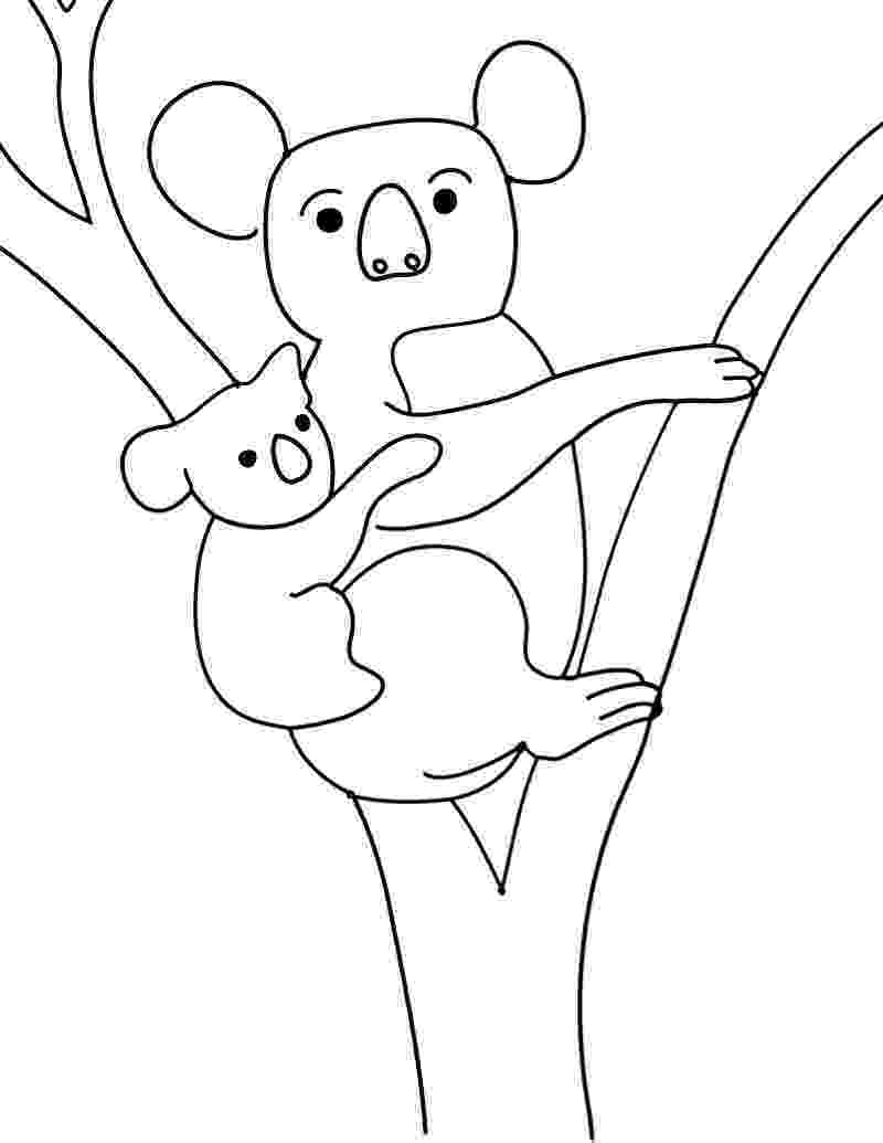 koala coloring pages koala bear pictures to color coloring home pages koala coloring