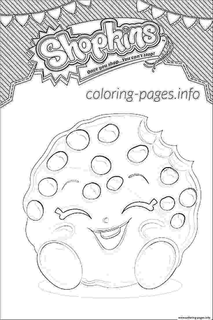 kooky cookie print shopkins kooky cookie shoppies coloring pages cookie kooky