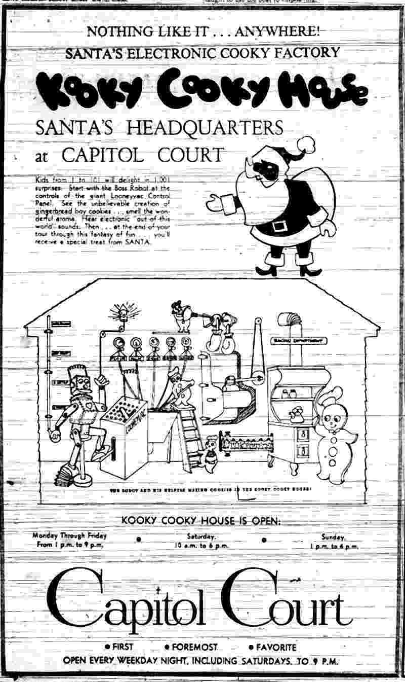 kooky cookie the kooky cooky house at capitol court in milwaukee cookie kooky