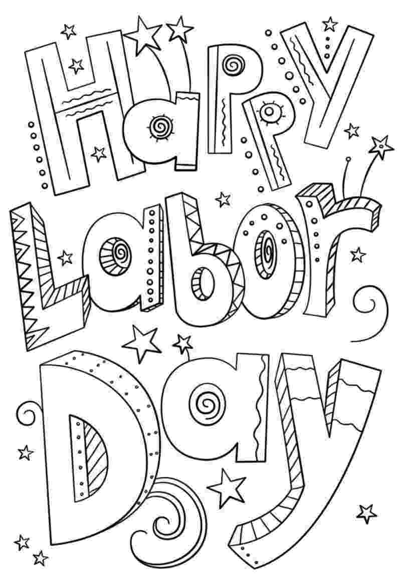 labor day coloring pages free printable happy labor day holiday worksheets coloring pages for pages free coloring labor day printable